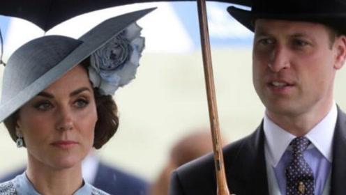 英国威廉王子夫妇车队将老妇撞致重伤 已被紧急送医