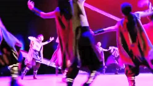 壮观!天津体育大学的舞蹈表演