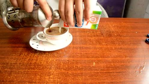 60秒学会咖啡新喝法,这么喝才够味!