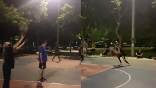 未受风波影响!周扬青陪着罗志祥与周董昆凌打球