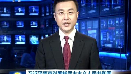 习近平离京对朝鲜民主主义人民共和国进行国事访问