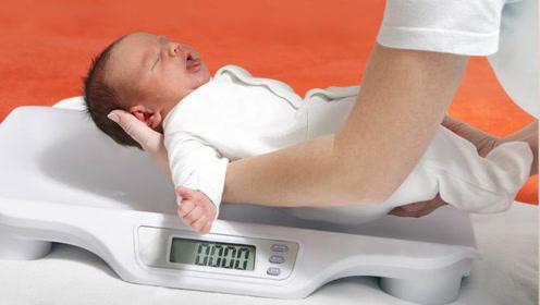 宝宝刚出生若体重接近这个数 恭喜孩子以后笨不了
