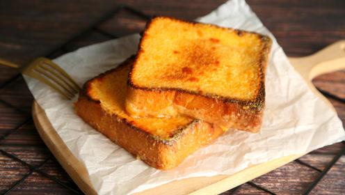 岩烧乳酪——浸在浓浓芝士里的吐司,一口吃出幸福感!