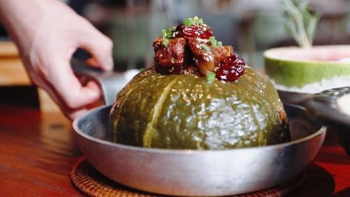 把牛排放进一整个南瓜里炖,味道竟然是该死的鲜美?!