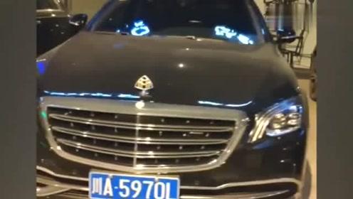 各大品牌豪华车代表,停放在一起,还是感觉迈巴赫更加抢眼!