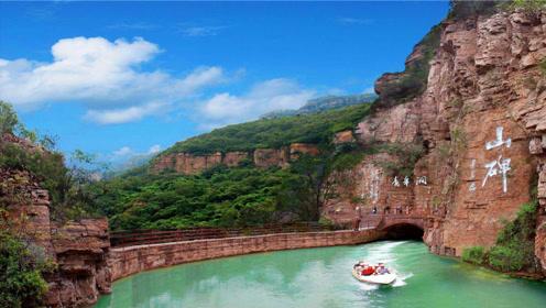 """中国最牛""""人工河"""",花费10年铲平千余山头,堪称最美人间天河"""