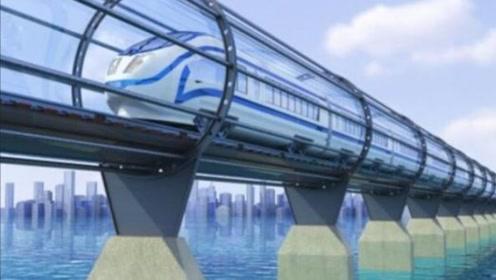 中国高铁逆天了!时速达4000公里,北京到上海只要20分钟