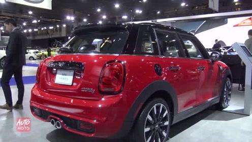 车展实拍全新MINI五门版轿车细节,你喜欢这车吗?