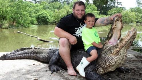 5个世界最不可思议的人!六岁小孩每日与猛兽相伴?