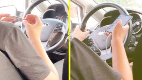 乘客拍下滴滴司机行车途中剪指甲视频,滴滴客服:已暂停其服务账号