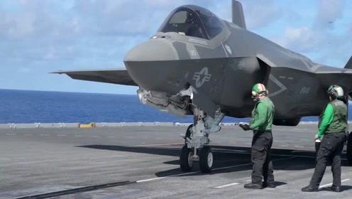 饱受质疑的F-35舰载机,这次终于上舰了
