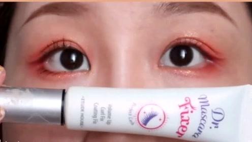 无眼线假睫毛也能放大眼睛术