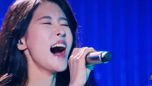 选秀冠军现场实力大PK,听来听去还是张碧晨最稳!