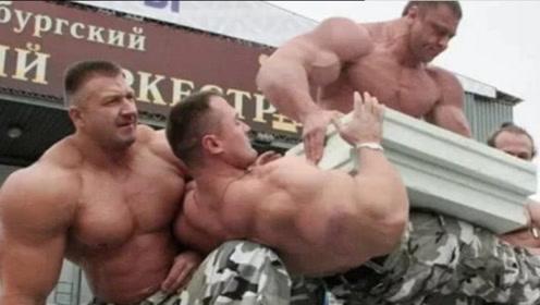 当特种兵来到健身房,健身套路果然不一般,涨见识了!