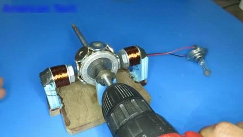磁生电是什么原理?牛人动手打造一个,瞬间看懂了!