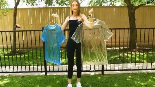 """设计师发明""""透明""""衣服,穿上街也太拉风了,网友:女生也能穿?"""