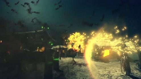 《山海经之伏魔正道》精彩片段:高僧恶妖斗法,上古邪妖被困金钟