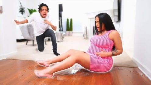 妻子假装要生了,老公会是什么反应?网友:心疼老公一秒!