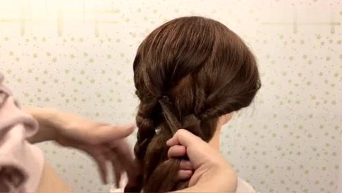 颜值不够,发型来凑!教你这样简单一扎,秒变气质发型