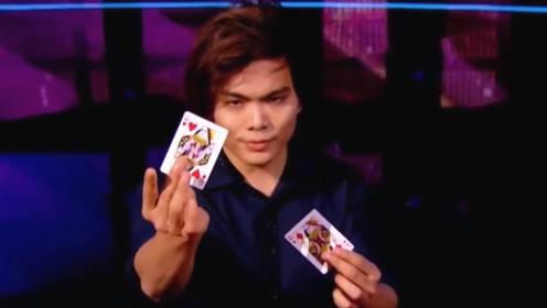 美国达人秀:华人魔术师申林震撼美国达人秀,评委惊讶得合不拢嘴