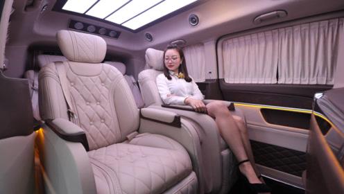 迈巴赫版7座MPV!比埃尔法大一号,真正的明星保姆车