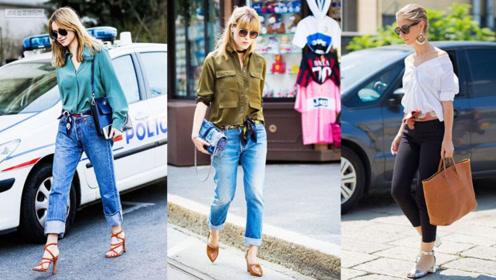 简约单调的穿搭腰带,束腰显瘦,轻松穿出气质,超时髦的!
