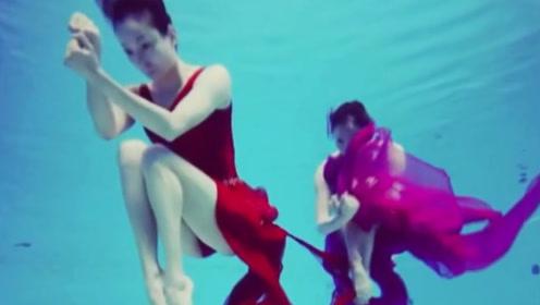 """花样游泳世界冠军组成""""人鱼姐妹团"""",演绎高难度动作看呆众人"""