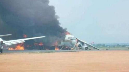 一架伊尔76刚降落就被击毁,翼龙无人机再次立大功,打响品牌!
