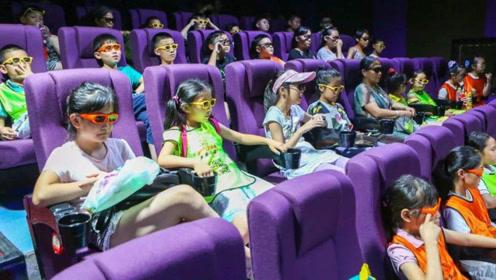 孩子看完电影后恶心呕吐 原来3D电影也有年龄限制
