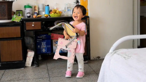 妈妈问女儿:你属啥的?2岁宝宝的回答,连她自己都笑了!
