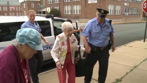 104岁老当街被捕!网友怒批不讲人情,真相揭晓感动由心而生