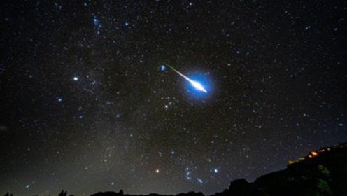 英仙座流星雨即将来临 最大流量可达110颗左右