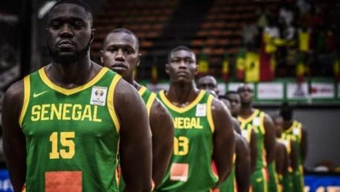 塞内加尔男篮世预赛高光集锦 迪昂领衔内线狂人反击折叠暴扣