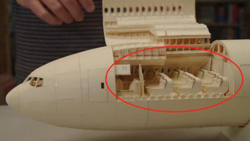 牛人自制一架纸飞机做了10年,看到内部结构后,就知碰了赔不起