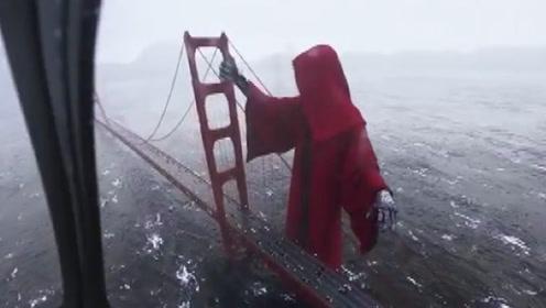 被死神眷顾的大桥,超过2000的人在此自杀,如今桥边惊现死神