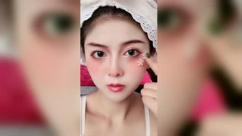 圆脸复古仙女系化妆教程