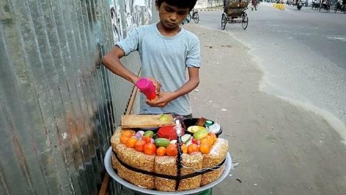 """印度版的""""切糕"""",一块就要200块,国产的居然会逊色?"""