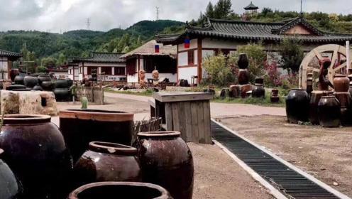 靠做泡菜的村子,被评为中国3A级景区,当地的辣白菜太好吃!