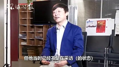胡锡进接受CNN采访3