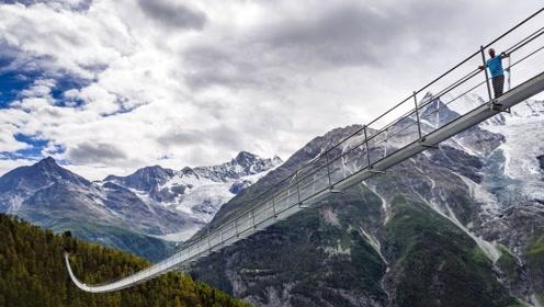 世界上最长的吊桥:长494米宽63厘米,修建还只用了10周!