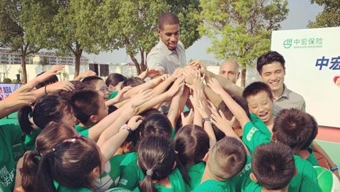 真正的篮球无国界!阿德赴上海参加NBA关怀活动