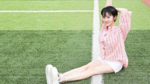 """有种""""腿""""叫陈小纭的腿,大腿像小腿一样,说她""""筷子腿""""都嫌粗"""