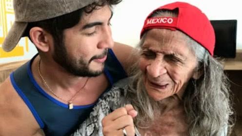 印度小伙疯狂迷恋91岁老太,婚后这项行为,网友直呼不能忍!
