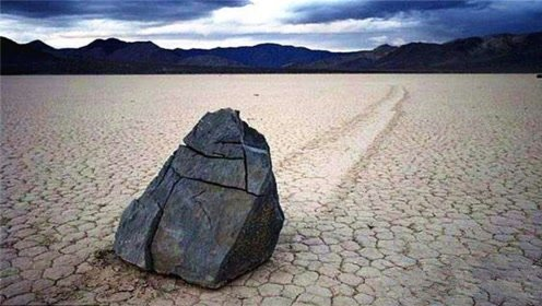 """美国有种石头,能自己""""走路"""",此现象至今也无人能解释"""