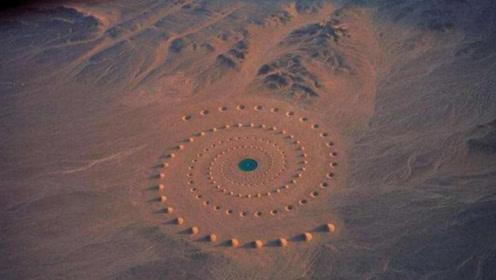 """沙漠中心出现多个奇特图案,或是地外文明留下的沟通""""暗号"""""""