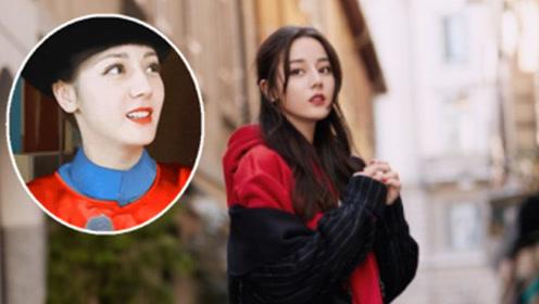 首次穿清朝古装的热巴,当看到她官服的样子,网友:小燕子即视感