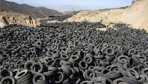 非洲人真聪明!疯狂向我国收购的废弃轮胎,加工一下就卖给别人