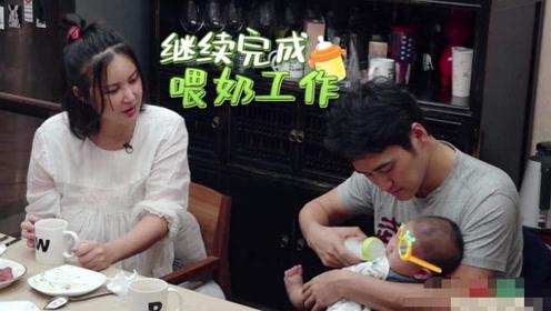 张歆艺和保姆同桌吃饭,却把孩子交给婆婆带!婆婆的反应暴露修养
