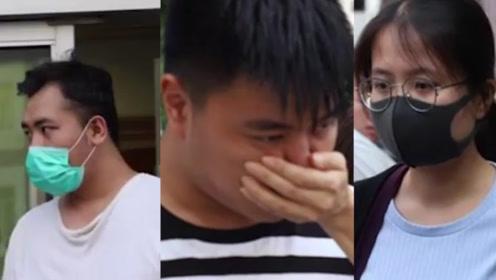 令人发指!香港暴徒非法禁锢还非礼一名女路人 三人被当庭控罪