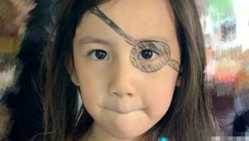 黄磊给多妹化海盗妆遭网友吐槽 与自己童年画表一样敷衍